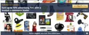 Amazon affiliates through this space, mostly because it is a solid hobby (i.e. passion ) niche with tons of product.