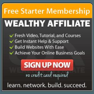 Free Starter Membership-Sign Uo Now