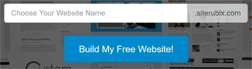 Build My Free Website