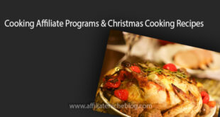 Cooking Affiliate Programs & Christmas Cooking Recipes