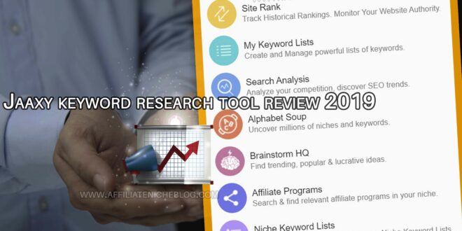 Jaaxy keyword research tool review 2019