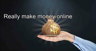 Really make money online