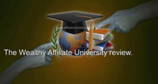 The Wealthy Affiliate University review.