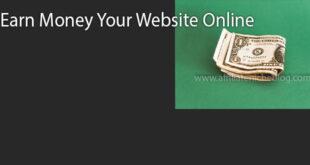 Earn Money Your Website Online