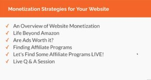 Monetization Strategies for Your Website